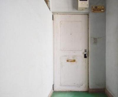 田園第一守谷マンションの玄関扉です。