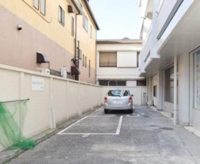 田園第一守谷マンションの駐車場です。