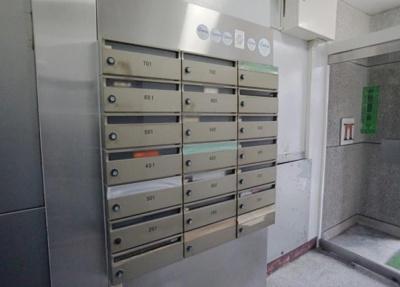 田園第一守谷マンションのメールボックスです。