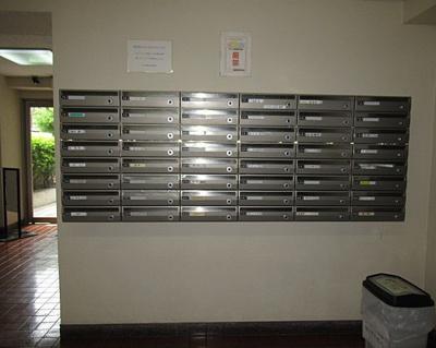 ルネ西蒲田のメールボックスです。