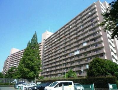 高島平第一住宅1号棟の外観です