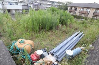 千葉市稲毛区園生町 土地 稲毛駅 上部からみた土地の写真です。