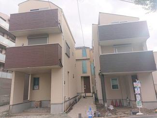 【外観】横浜市鶴見区北寺尾4丁目24A 新築戸建て