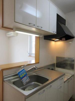 【キッチン】ハウス クレメントA・B・