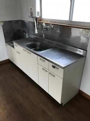 【キッチン】岡田ハイツ②