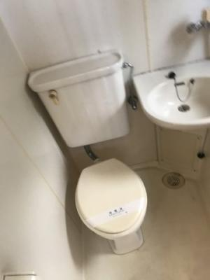 【トイレ】フラワーハイツ