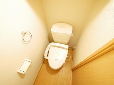 【トイレ】レオパレスビューヒルズテン