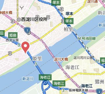 【地図】アルトピノ姫島