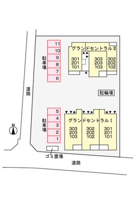 【区画図】グランドセントラル2(グランドセントラルツー)