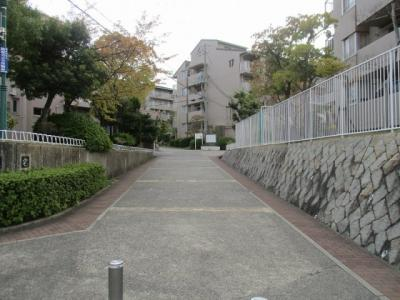 【エントランス】名谷竜が台東住宅12号棟