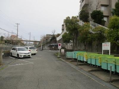 【駐車場】名谷竜が台東住宅12号棟