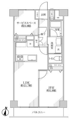【外観】秀和第4東陽町レジデンス 5階 リフォーム済