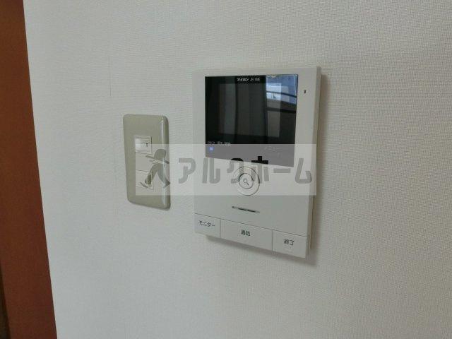 パブリックマンション(柏原市旭ケ丘) TVモニターホン