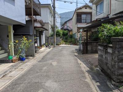 【前面道路含む現地写真】京都市山科区大塚南溝町