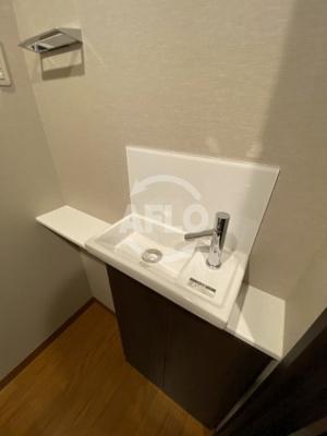 ジオタワー天六 トイレ洗面
