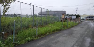 【前面道路含む現地写真】藤岡市中の土地