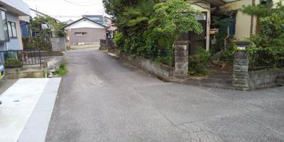 【前面道路含む現地写真】藤岡市本動堂の土地