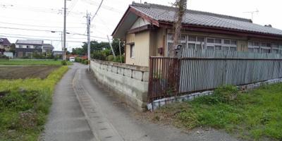 【前面道路含む現地写真】藤岡市下戸塚の土地