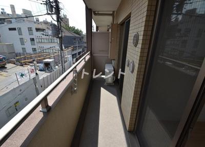 【バルコニー】メゾンカルム西新宿
