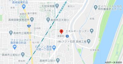 【地図】須賀町貸家4戸1 (株)Roots