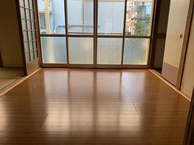 【居間・リビング】須賀町貸家4戸1 (株)Roots