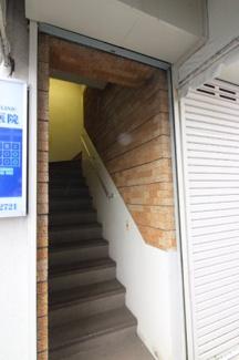 階段入口です。