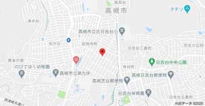 【地図】安岡寺3丁目貸家 (株)Roots