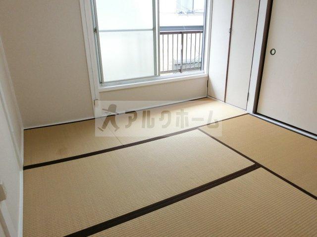 法善寺4丁目3DKテラスハウス 柏原市 和室