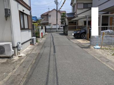【前面道路含む現地写真】京都市山科区音羽沢町