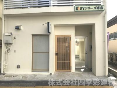 【外観パース】那覇市寄宮 売アパート