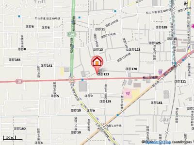 【地図】AXiS空港通