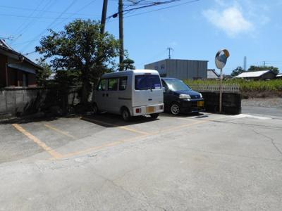 【駐車場】溝口アパート