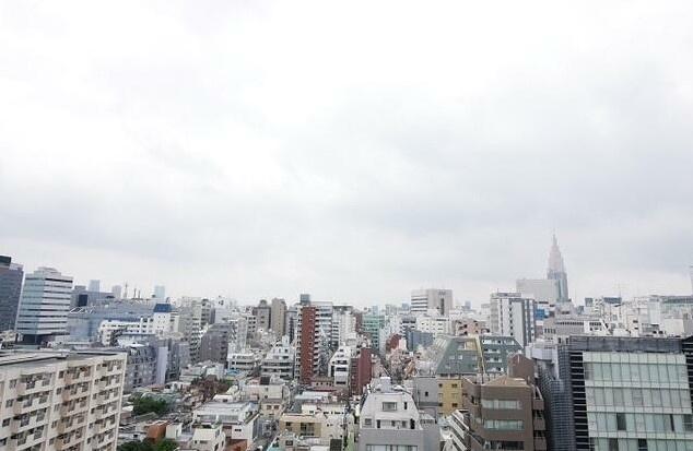 【展望】コンフォリア新宿イーストサイドタワー