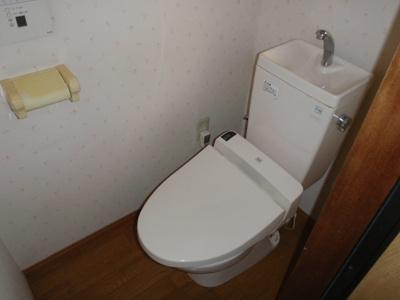 【トイレ】高見の里6丁目8-14連棟貸家