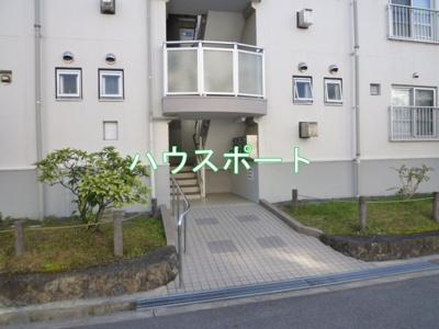 【外観】長岡天神ハイツ6棟