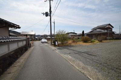 【前面道路含む現地写真】南丹市園部町上木崎町中ノ坪