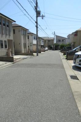 【前面道路含む現地写真】神戸市垂水区千代が丘1丁目
