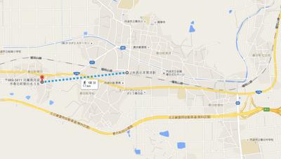 【地図】朝日中古