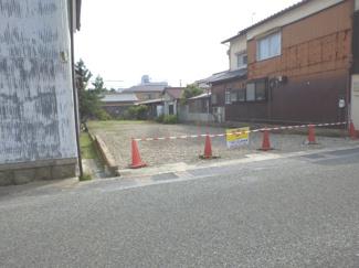 【前面道路含む現地写真】丹波篠山市呉服町売地