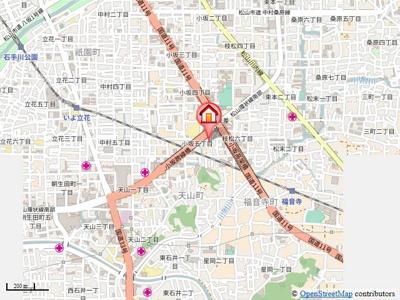 【地図】永田小坂ビル・
