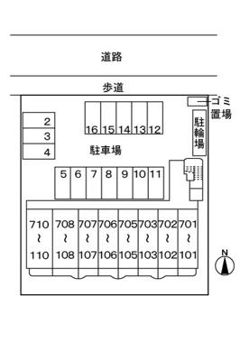 【区画図】ガーデンパレス秋根