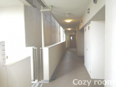 共有廊下です