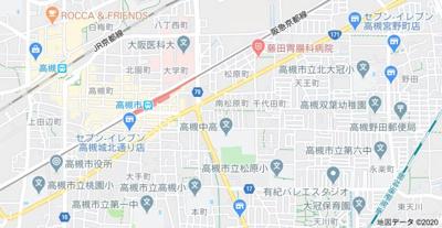 【地図】南松原平屋 (株)Roots