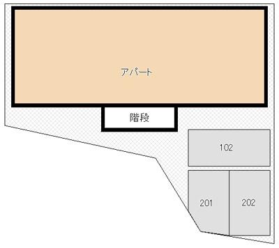 【駐車場】山城アパート