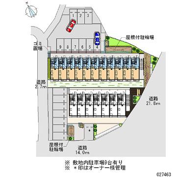 【地図】キャッスル Y T