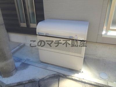建物専用ゴミ置場