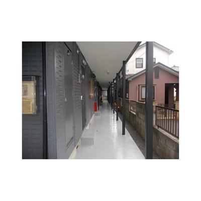 エクセルハイムの廊下