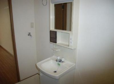 ラ・セゾンの独立洗面台(同間取り別部屋)