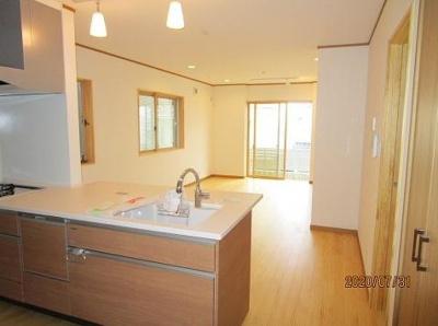 【居間・リビング】神戸市垂水区西舞子8丁目 A号棟 未入居物件