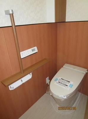 【トイレ】神戸市垂水区西舞子8丁目 A号棟 未入居物件